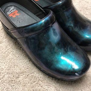Dansko xp nursing shoes size 42 11 blue like new